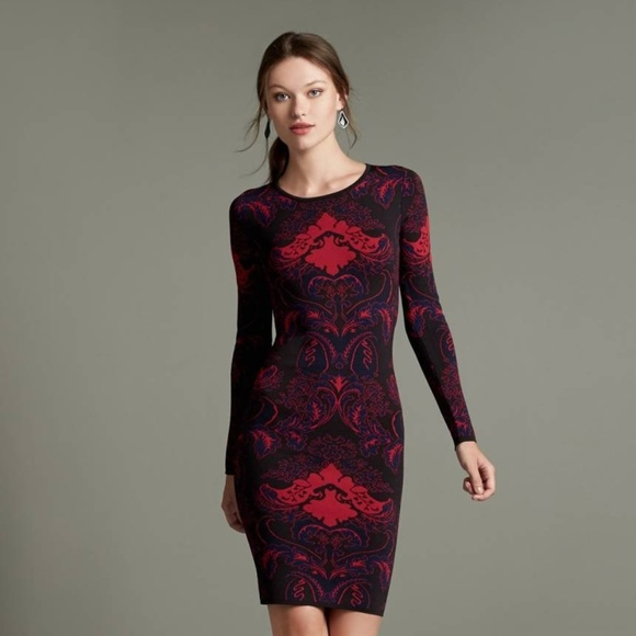 15385a4c84404a Felicity & Coco Dresses & Skirts - Elegant & Sexy Jacquard Knit Body-Con  Dress
